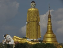 Huge Buddha Image in Myanmar (3)