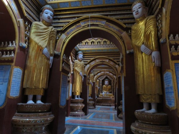 Inside Thanboddhay Paya