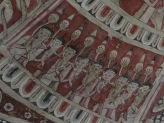Mural inside the Po win taung in Monwya