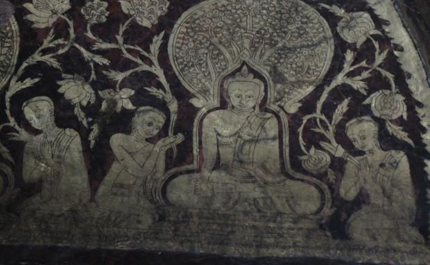 Pagoda Mural
